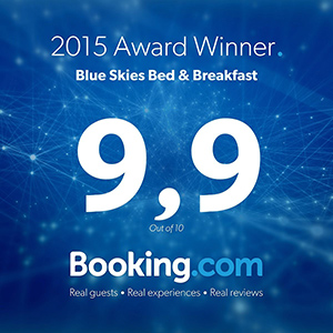 Booking.com 9.9 Award Winner