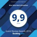 Booking.com 9.9 Award Winner 2016
